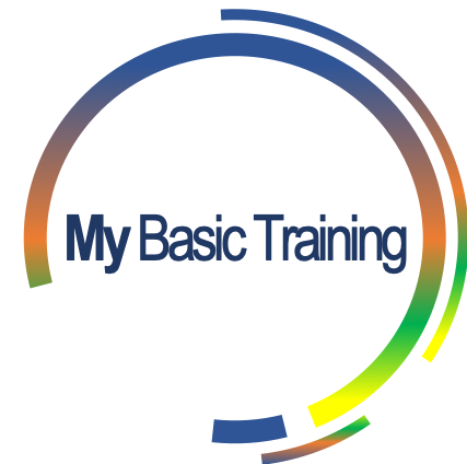 My Basic Training logo - colour2